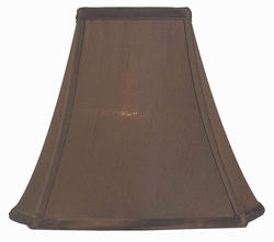 "12"" Brown Modified Bell Lamp Shade"