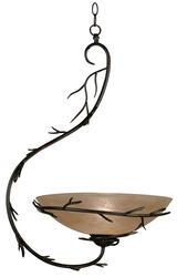 Twigs 1 Light Bronze Pendant
