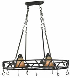 Bantam 2 Light Pot Rack