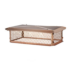 "HY-C 17"" x 53"" Copper Big Top (Knocked-Down) (14"" Height)"