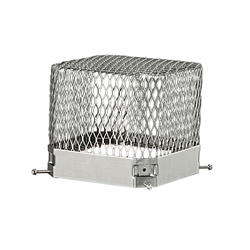 "HY-C 9"" x 13"" x 6"" Stainless Steel Raccoon Screen"