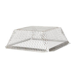 """HY-C 16"""" x 16"""" Stainless Steel Roof Vent Guard"""