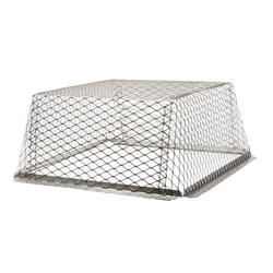 "HY-C 25"" x 25"" Stainless Steel Roof Vent Guard"