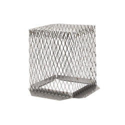 """HY-C 7"""" x 7"""" Stainless Steel Roof Vent Guard"""