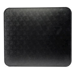 "HY-C 48"" x 48"" Black Floor/Wall Shield"