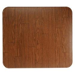 """HY-C 36"""" x 48"""" Woodgrain Floor/Wall Shield"""