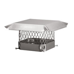 "HY-C 5""  x  9"" Stainless Steel Chimney Cover"