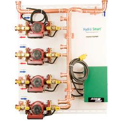 Hydro Smart Integrator Panel, 1-Temp, 4-Zone, Pumps
