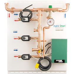Hydro Smart Integrator Panel, 2-Temp, 3-Zone, Zone Valves