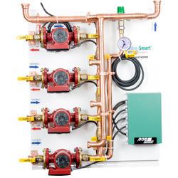 Hydro Smart Integrator Panel, 2-Temp, 4-Zone, Pumps