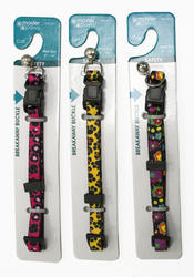 "Masterpaws® 3/8"" Designer Breakaway Cat Collar"