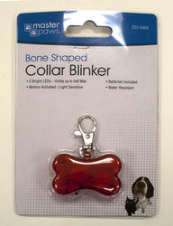 Masterpaws® Bone-Shaped Blinker Collar