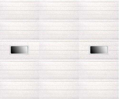 Ideal door 12 ft x 10 ft 5 star white ribbed 2 lite for 12 foot garage door opener