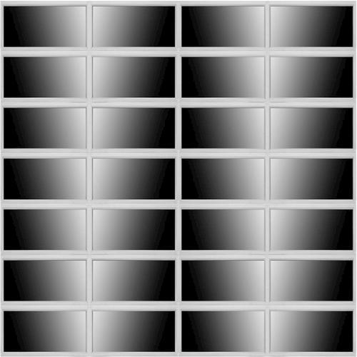 Ideal door 14 ft x 14 ft 5 star silver full view full for 10 ft garage door opener