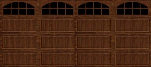 Ideal Door 174 16 Ft X 7 Ft Walnut Long Pnl Carriage House