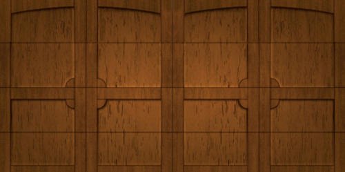 Ideal Door 174 16 Ft X 8 Ft Pecky Cypress Med Finish
