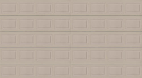 Ideal door 16 ft x 8 ft 5 star sandtone insul ez set for 16x8 garage door prices