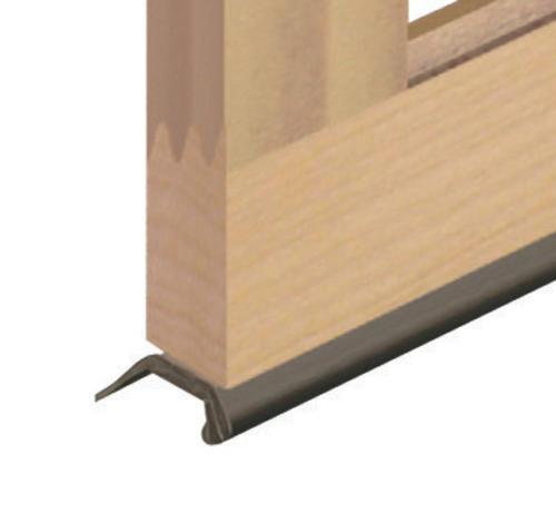 Ideal door 16 ft replacement bottom weatherstrip for for Ideal door replacement panels