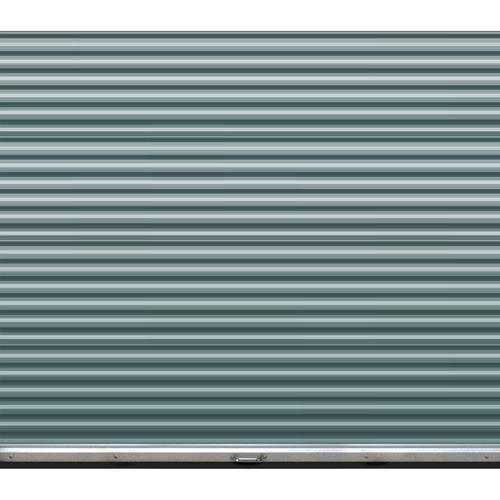 Ideal Door 174 8 Ft X 7 Ft Ribbed Model 200m Roll Up Door
