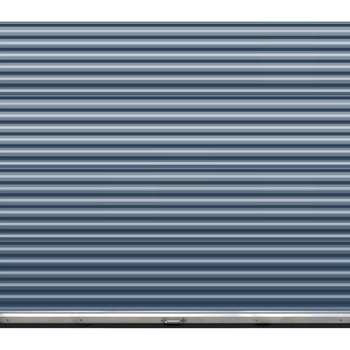 Ideal door 8 ft x 7 ft ribbed model 200m roll up door for Ideal garage doors