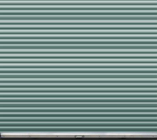Ideal Door 174 9 Ft X 7 Ft Ribbed Model 200m Roll Up Door