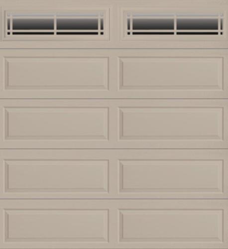 Ideal door prairie 9 ft x 8 ft 4 star sandtone insul for 10 ft garage door opener