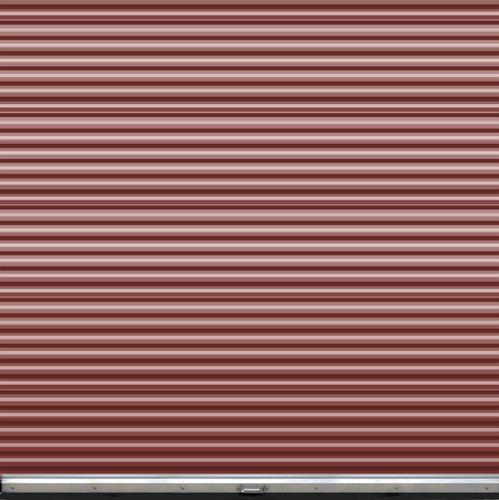 Ideal door 9 ft x 9 ft ribbed model 200m roll up door for 12 foot roll up door