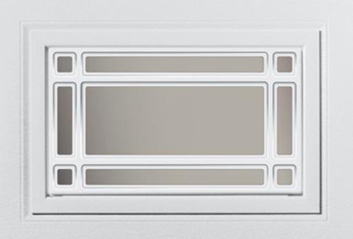 Ideal door white design insert prairie short panel at for Ideal door parts