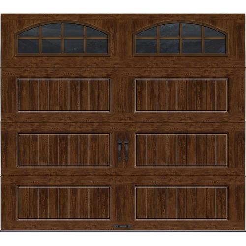 Ideal Door 174 9 Ft X 8 Ft Walnut Long Pnl Carriage House