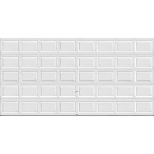 Ideal door 3 star standard value non insulated garage for 16 ft x 8 ft garage door