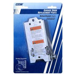 Ideal Door® Steel Replacement Bottom Right Side Bracket for Overhead Garage Door