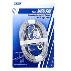 Ideal Door® 12 ft. Extension Spring Lift Cables for Overhead Garage Door