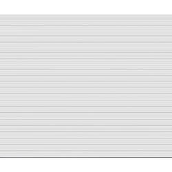 Ideal Door® 4-Star 18 ft. x 15 ft. White Deep Ribbed Non-Insulated Garage Door