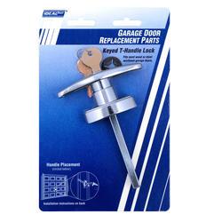 Ideal Door® Side Keyed T-Handle Lock for Overhead Garage Doors
