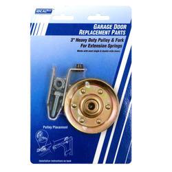 """Ideal Door® 3"""" Heavy-Duty Steel Replacement Pulley for Overhead Garage Door"""