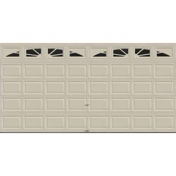 Ideal Door® 4-Star Sunrise 16 ft. x 8 ft. Desert Tan Insulated Garage Door with EZ-SET® Spring