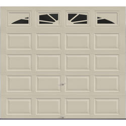 Ideal Door® 4-Star Sunrise 9 ft. x 8 ft. Desert Tan Insulated Garage Door with EZ-SET® Spring