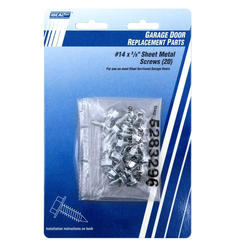 "Ideal Door® 20-Pack 5/8"" x No. 14 Sheet Metal Screws for Overhead Garage Doors"