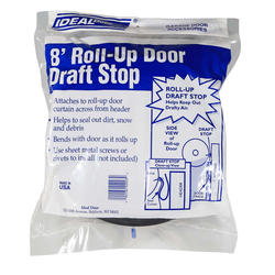 Ideal Door® 8 ft. Perimeter Draft Stop Weatherstrip for Roll-Up Doors