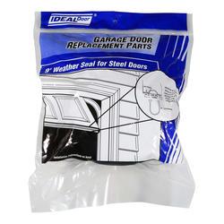 """Ideal Door® 9 ft. 2"""" Replacement Bottom Weatherstrip U-Shaped to fit Ideal Retainer for Steel Garage Doors"""