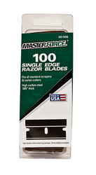 Masterforce® Single Edge Razor Blade (100-Pack)