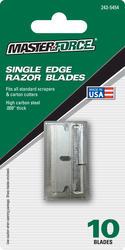 Masterforce® Single Edge Razor Blades (10-Pack)