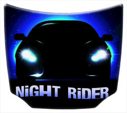 IGT America Night Rider Aluminum Hood with Hangers