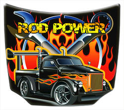 IGT America Rod Power Aluminum Hood with Hangers