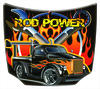 IGT America Rod Power Aluminum Hood with Hangers