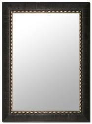 "Images 2000 25-3/4"" x 33-3/4"" Brown Tobacco Leaf Mirror"