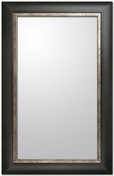 """Images 2000 21-1/2"""" x 33-1/2"""" Deep Brown Distressed Vanity Mirror"""