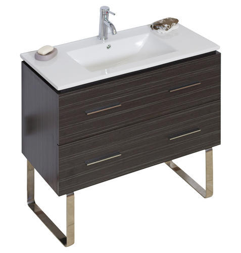 American Imaginations 36quot; x 18quot; Dawn Grey Vanity base at Menards®