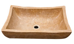 Polished Travertine Serenity Vessel