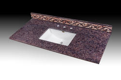 "Imperial Impressions 73"" Wide x 19"" Deep Impressions Vanity Top"